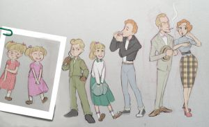 1950s Family designs by OmiOhMy