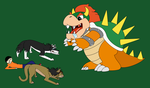 Bowser Battle by ilbv