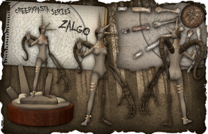 Creepypasta Series 9: Zalgo's Bone Incarnation by dimelotu