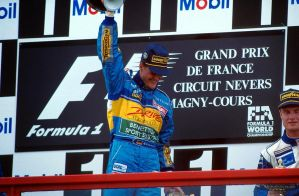 Michael Schumacher | David Couthard (France 1995) by F1-history