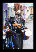 Bakanalia Border Morris, Loughborough 15/12/13 by FancyTogs