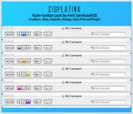 CisplatinX Styler Toolbar Pack by amitsaraf32