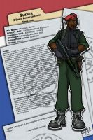 Action Force Dossier: Jammer by meleeinabox