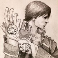 Roy Mustang Flame Alchemist by ninjason57