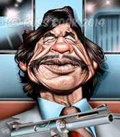 Charles Bronson by RussCook