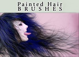 Painted Hair Brushes by Trisste-stock-moved