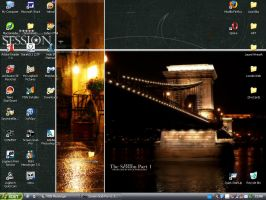 My vista-like desktop by Loreleike