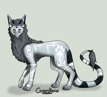 WhiteWinterWolf : Tork by GuardianAdoptables