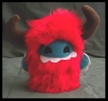 Little Red Monster by StuffItCreations