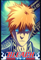 Bleach 480 Ichigo colouring by Nura-Kun