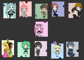 Folder Chibis by pinkkittypower