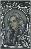 King Orodreth of Nargothrond, the father of Findui by ebe-kastein