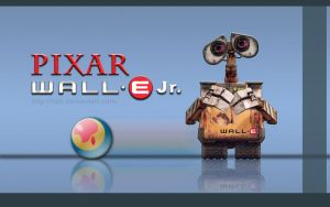 Wall.E Jr. - Pixar - iMac by iFab