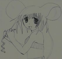 manga mouse girl by mor4674j