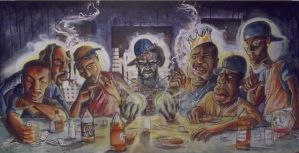 THE HIP HOP LAST SUPPER by kudos182
