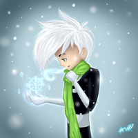 Ghostie, it's cold outside by MidnightsBloom