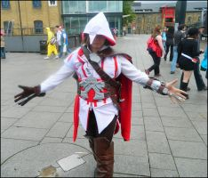Assassins Creed Cosplayer Ezio by MJ-Cosplay