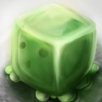[Minecraft] Just a slime! by ellielza