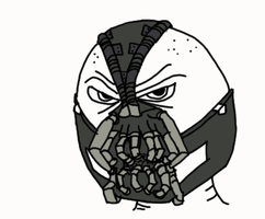 Bane sketch by Luke-the-F0x