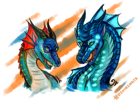 Wings of Fire - Feisty Girls by Nocturnax