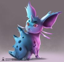 Kanto - Nidoran (female) by ArtKitt-Creations