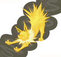 day 13: Jolteon by Pokeaday