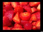 Strawberries by SkullDaggerYPleasanT
