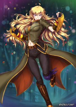 Yang Xiao Long by ADSouto