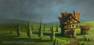 Quiet house by osobogly
