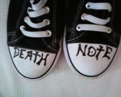 a second picture of my shoes by milovedeathnote