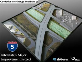 Interstate 5 Model by TimBakerFX