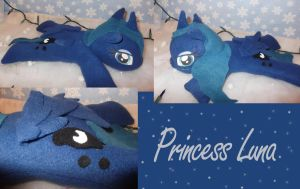 Princess Luna Plush by bluepaws21
