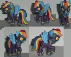 My Little Pony Custom Blind Bag Shadow Bolt by Ember-lacewing