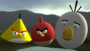 Angry Birds Close Up by xSakuyaChan510x