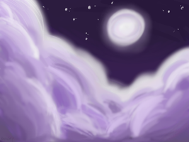 .: Night Time Clouds :. by saturdayprince