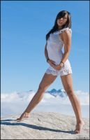 Karma Fayt above the clouds 02 by Skookum-Models