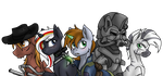 Fallout Equestria by Piecee01 - Vectorized by NightFlyer22