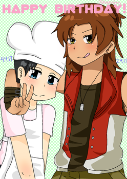 Cooking With Diamond Special Birthdays by Purified-Justice