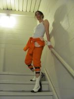Chell Cosplay by NocturnalEquine
