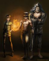The Revolutionary Army by ACWart