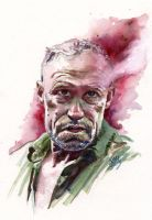 Merle/Walking Dead by kenmeyerjr