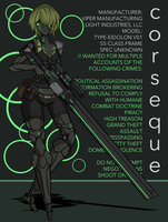 SPACE PIRATE ASSASSIN by MachiavellianMaiden