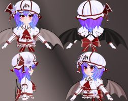 Toony Remilia - WIP II by Primantis