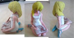 Sculpture: Namine by YumtasticMint