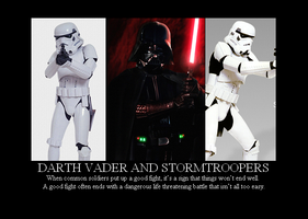 Vader and Stormtroopers by Winter-Phantom