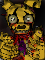 Springtrap and PG by DarkenedGroves