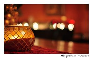 Christmas Candle Bokeh by jwstarbuck09