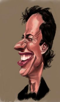 Jerry Seinfeld-Colour WIP by Twinimation