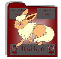 Kailyn Reference by Darkyoaifox