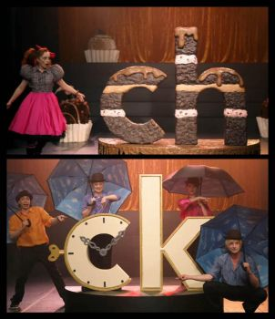 Life in the Land of Letters: chocolate/clock by ZombieArmadillo